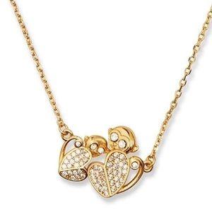 $78 Kate Spade mom knows best monkey necklace